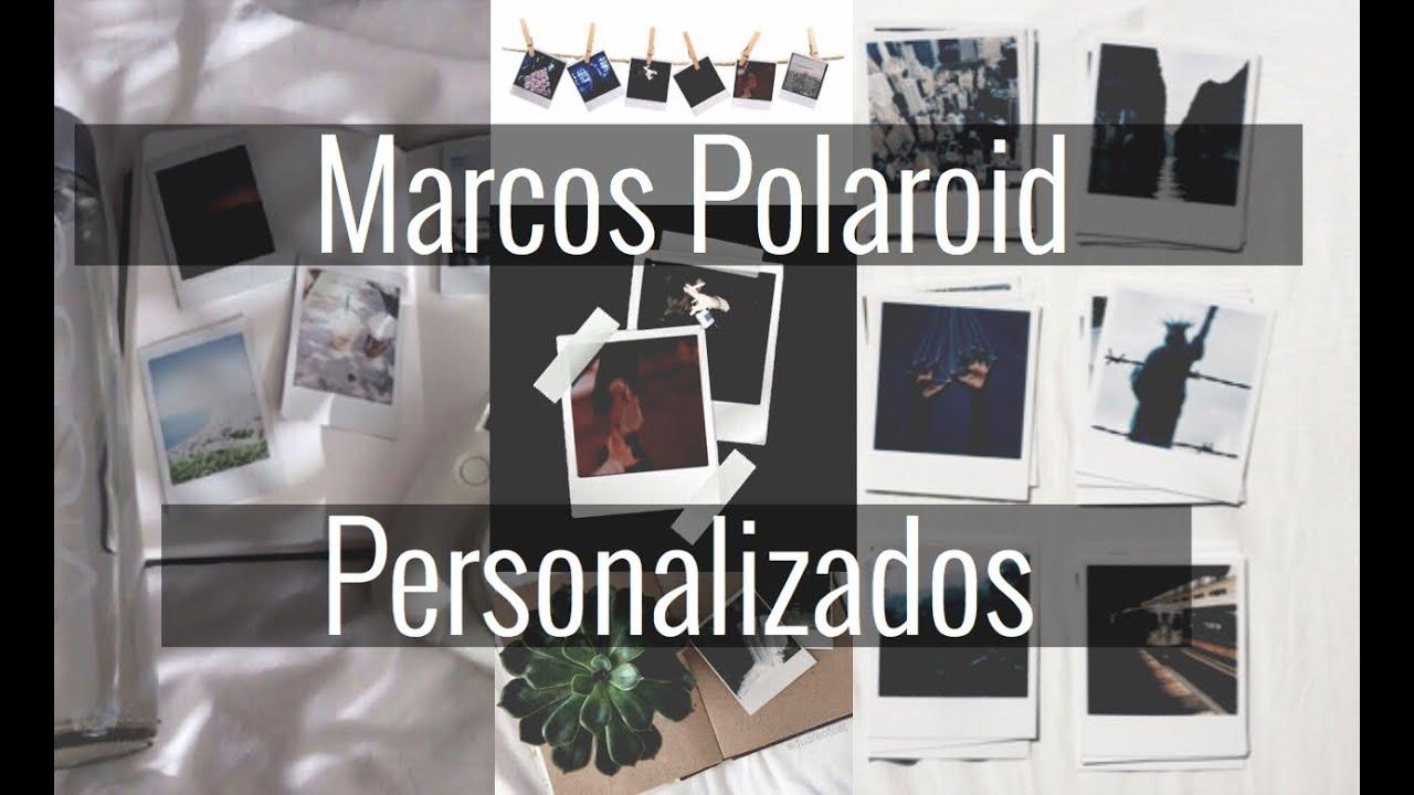 Marcos Polaroid Personalizados | Picsart ✨ - YouTube