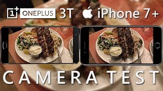 OnePlus 3T vs iPhone 7 Plus - Camera Test! (In-Depth Review)