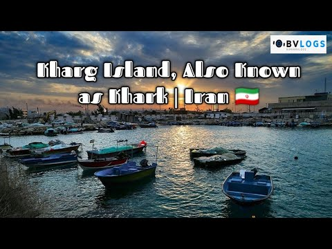 Kharg Island, Also Known as Khark   Iran 🇮🇷   These People Are Going On The Oil Terminal Iran 🇮🇷  