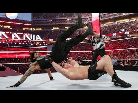 Reigns wrestlemania vs download brock full match lesnar 31 roman