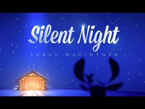 Silent Night - WITH LYRICS - Christmas Song For Kids