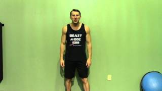 Dumbbell Clean + Front Squat - HASfit Compound Exercises - Total Body Exercise