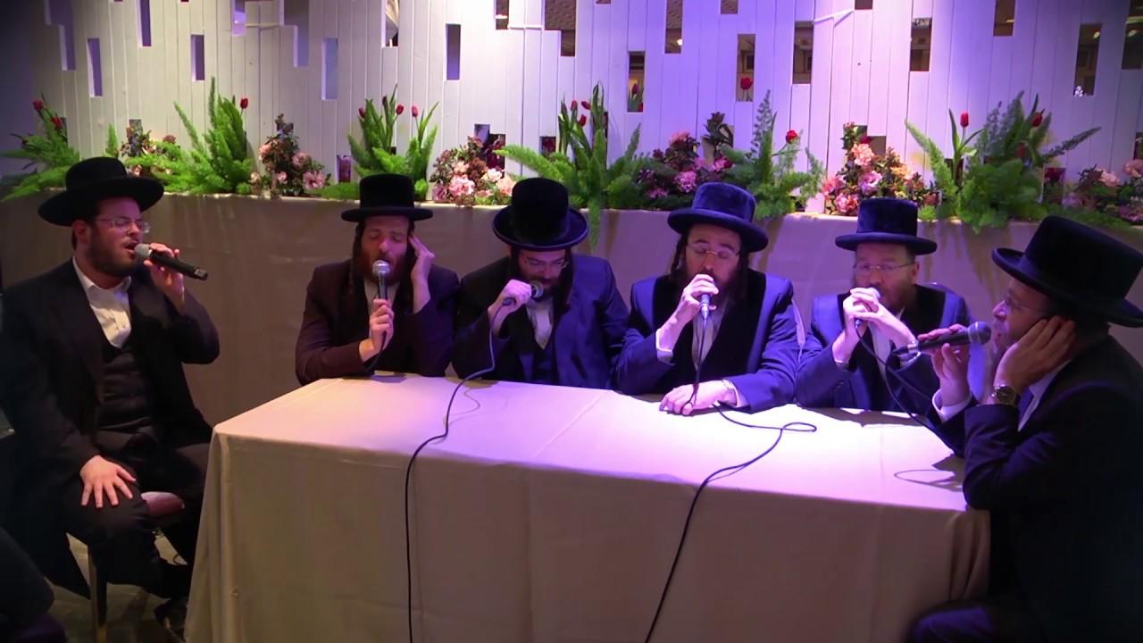 דובל'ה פרידמן & ישראל גולדקנופף, מקהלת ויז'ניץ - מחרוזת מרוממת