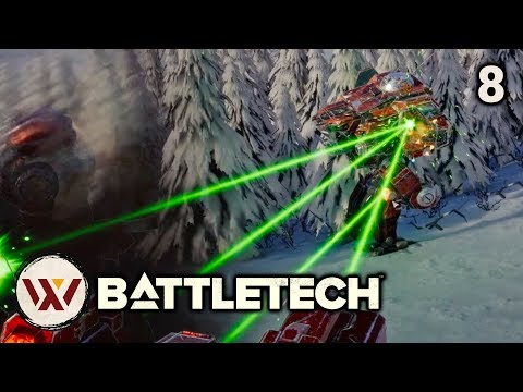Surrounded! - #8 BATTLETECH Let's Play Campaign Gameplay