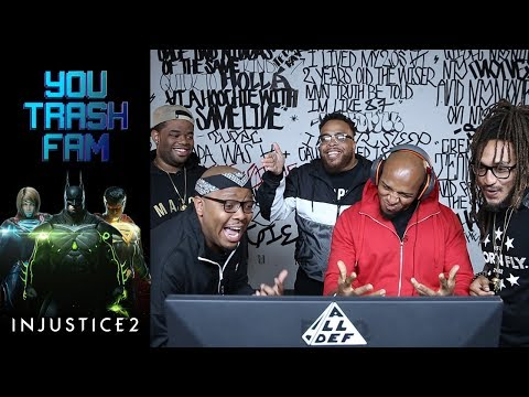 The SquADD Plays DC Comics Injustice | You Trash Fam