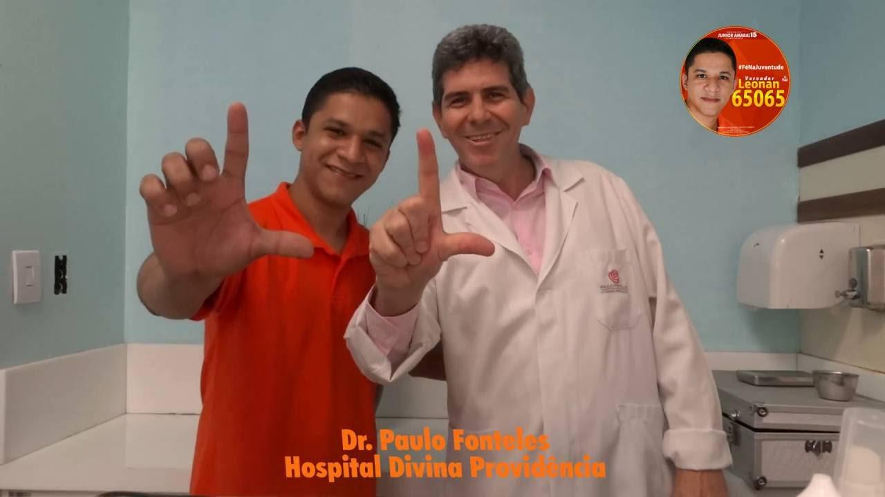 Dr. Paulo Fonteles apoia Leonan Felipe em Marituba