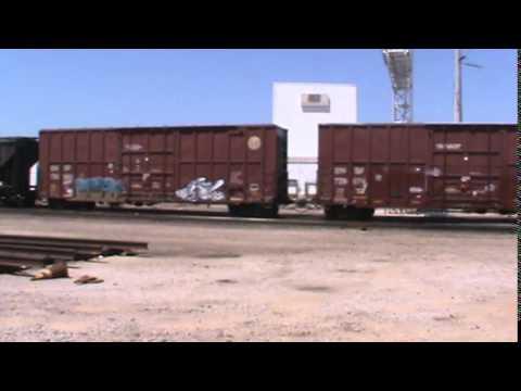 BNSF General Freight Tulsa, OK 8/9/15 vid 2 of 2