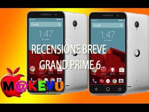 Vodafone Smart Prime 6 - Recensione breve by M@KEVU [ ITA ]