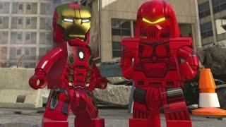 LEGO Marvel's Avengers - Sokovia Hub Free Roam Gameplay