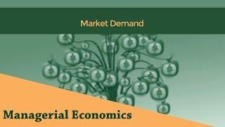 Market Demand | Determinants of Market Demand | Demand Function