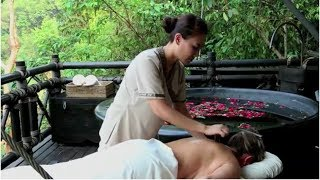Signature Ruak Bamboo Massage at Four Seasons Tented Camp  Golden Triangle