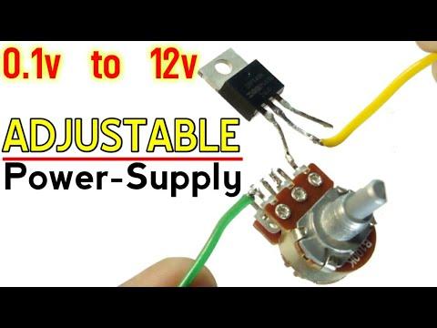 Simple Voltage Regulator   Adjustable1.2v To 12 voltage Regulator