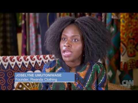 RWANDA CLOTHING: Africa's new high-end fashion brand. CNN African Start-Up