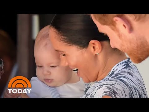 Baby Archie Makes Africa Tour Debut With Prince Harry, Meghan Markle   TODAY