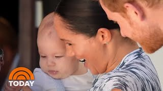 Baby Archie Makes Africa Tour Debut With Prince Harry, Meghan Markle | TODAY