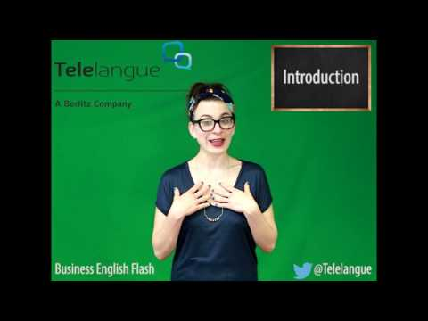 Mini Lesson 2 : Key phrases for a presentation