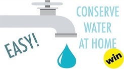 7 Ways To Conserve Water At Home