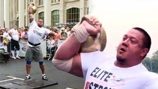 Mikhail Koklyaev is lifting Dikul