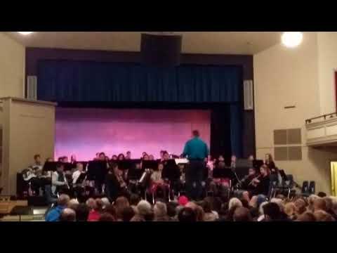 Home street middle School- jingle bells
