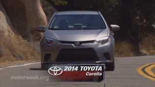 Road Test 2014 Toyota Corolla