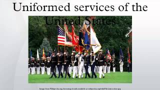 Uniformed services of the United States