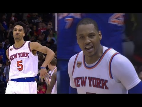 4 OT Game! Carmelo 45 Pts Millsap 37 Pts 19 Rebs! Quadruple Overtime Knicks vs Hawks