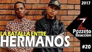 Valles-T vs Constante 2017 La Batalla Entre Hermanos//Reaccion #20//Pozzetto al Rap