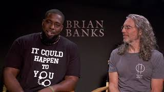 BRIAN BANKS: Brian Banks & Tom Shadyac Interviews