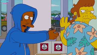 The Simpsons - Apu robs a store