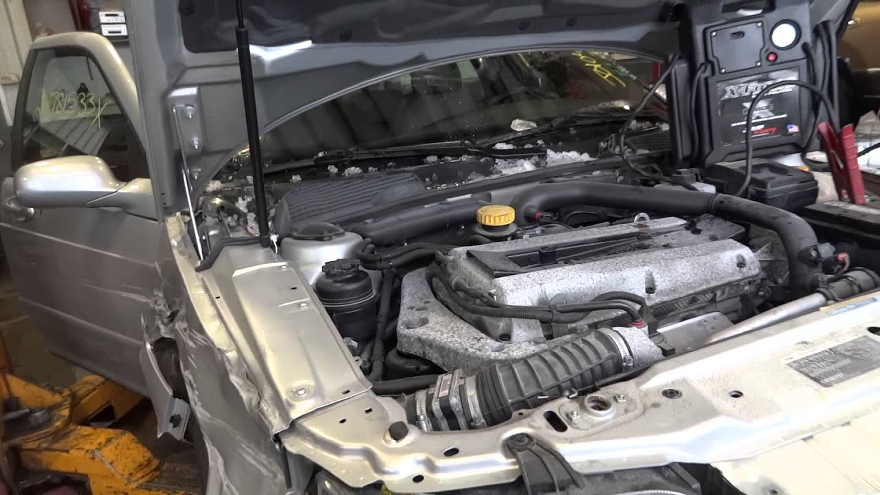 engine for sale from a 2006 saab 9-5, 2 3l motor with 76,098 miles