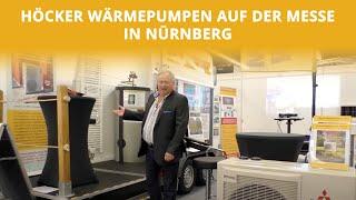 Komponenten einer Luft-Wasser-Wärmepumpe | Consumenta Nürnberg Spezial | Höcker Wärmepumpen