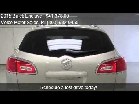 2015 buick enclave leather awd 4dr suv for sale in for Voice motors kalkaska michigan