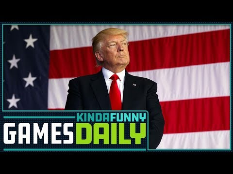 ESA Not Meeting with President Trump - Kinda Funny Games 03.02.18