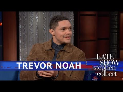 Trevor Noah Is Stealing Executive Time From Trump