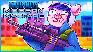 Modern Warfare but the FiNN with a sniper scope is stupid...