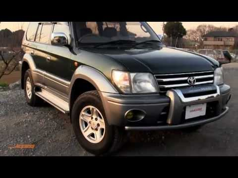 1999 Toyota Land Cruiser Prado 72K - for sale direct from Japan