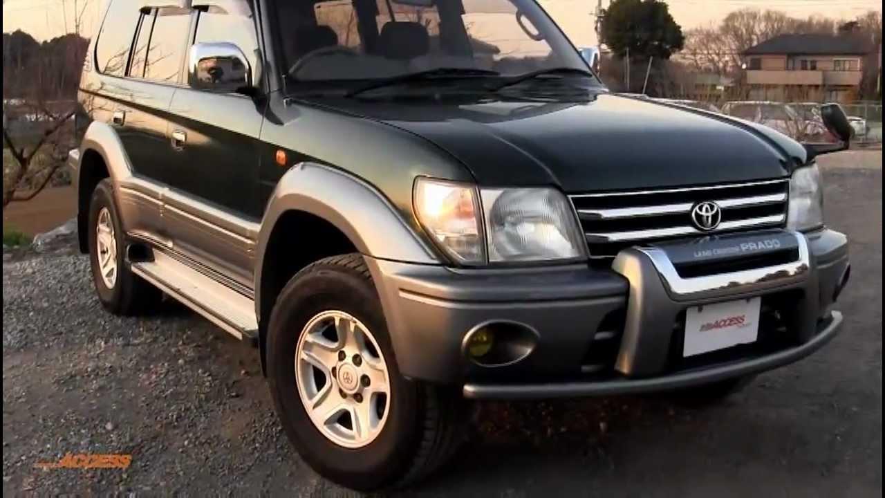 1999 Toyota Land Cruiser Prado 72K - for sale direct from ...