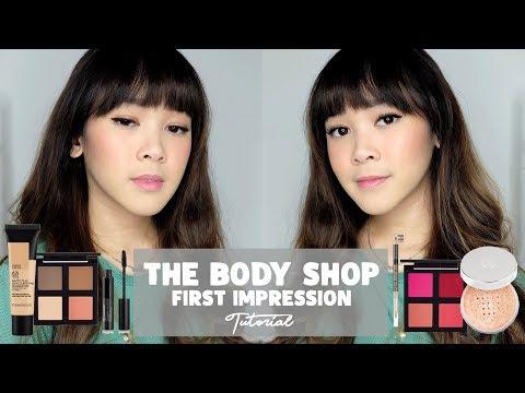 First Impression The Body Shop Makeup - Almiranti Fira