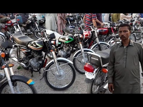 Sunday Bike Market | Largest Bike Market Of Karachi Pakistan |