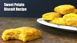 Sweet Potato Biscuit {Video Recipe}
