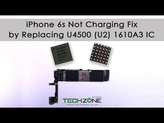 IPHONE 6S 6S Plus U4500 U2 IC USB Not