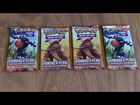 4 Mysterious Treasures Booster Pack Opening