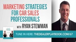 Marketing Ideas For Car Sales Professionals - Marketing Training