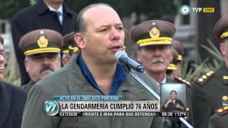 Visión 7 - Cumplió 76 años la Gendarmería Nacional