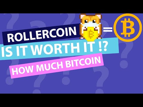 Earn Real Bitcoin On Roller Coin - Is It Worth Your Time ??!!?