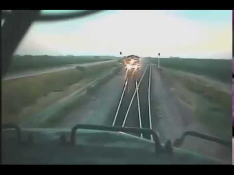 Live Train accident recorded in CCTV cam