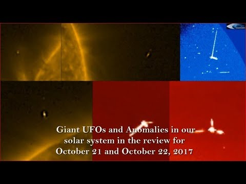 nouvel ordre mondial | Giant UFOs and Anomalies in our solar system in the review for October 21 and October 22, 2017