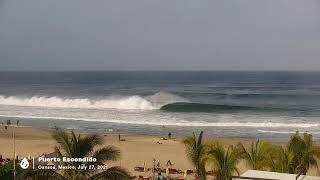 Yet Another Round of Swell at Puerto Escondido