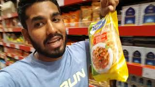Grocery Shopping in Walmart India!
