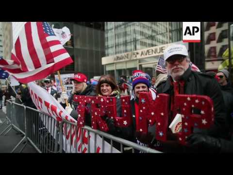 Supporters Attend 'March 4 Trump' Rally In NY